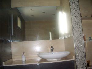 Baño lavamanos cosmo reformas Montoya